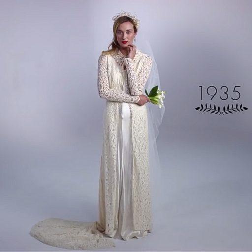 100 év Menyasszonyi Divat, – Ahogy Még Nem Láttad