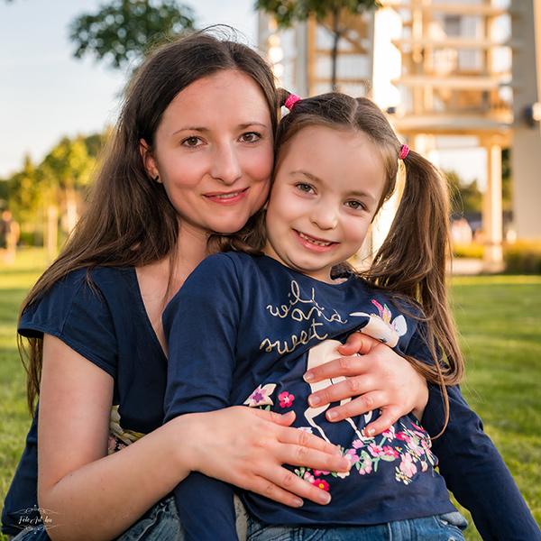 Copfos Lány Anyukával