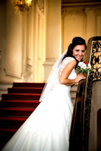 Menyasszon fotózás a keszthelyi Festetics-kastélyban