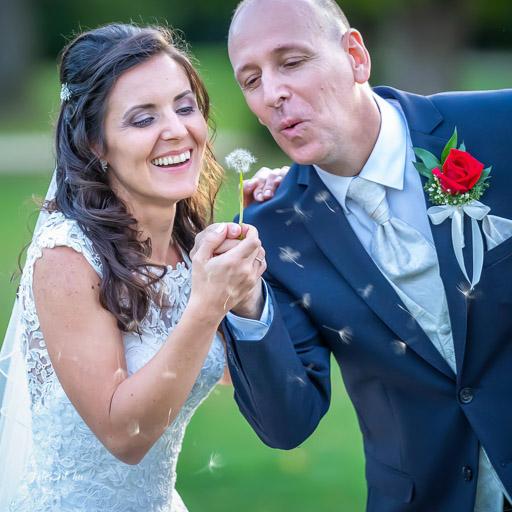 Menyasszony Vőlegény Páros Kreatív Fotózás