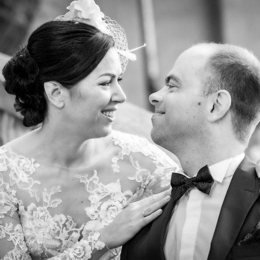Esküvői Fotók Feketén-fehéren