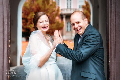 Vőlegény és menyasszony - esküvői fotózás